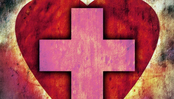 cross with a heart in it 610 350 shepherd of the hills