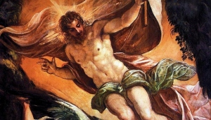 Jacopo Tintoretto The Resurrection of Christ (Zoom In) (610x351)