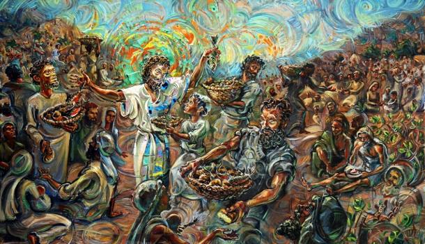 John: Lesson 8: Jesus Feeds a Crowd to … (John 6:1 – 24)