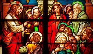 Jesus, Eucharist, Stained Glass (610x351)