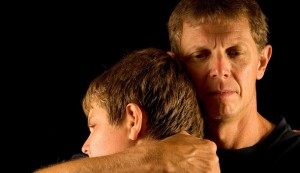 Father hugging Son (610x351)