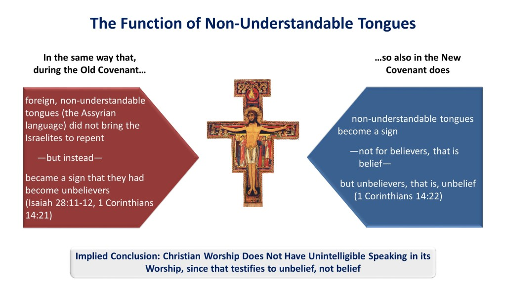 Lesson 23, Function of Non-Understandable Tongues