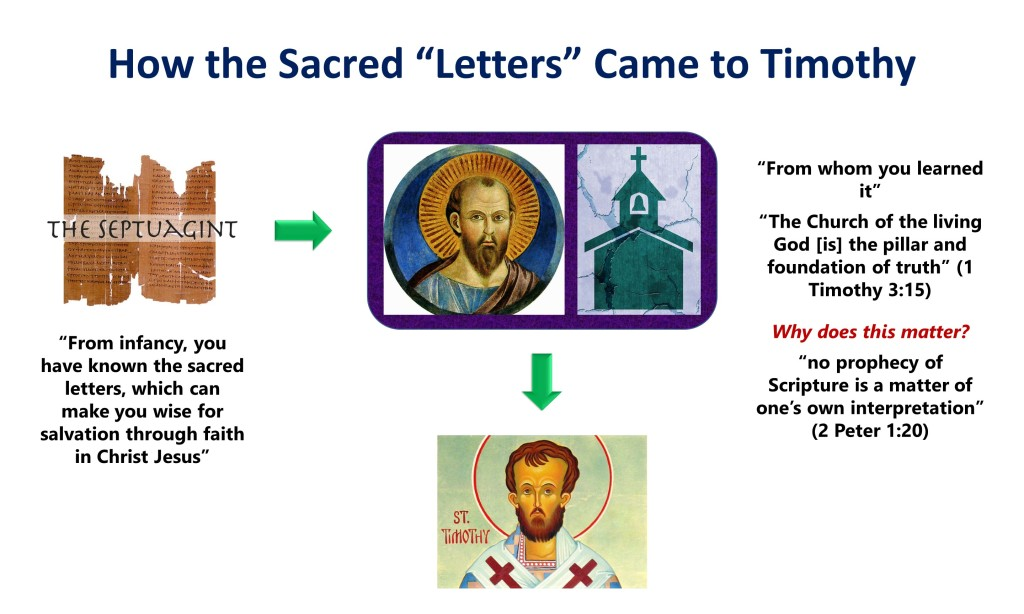 Lesson 6, How the Scriptures Came to Timothy