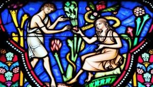 Adam and Eve Sinning in the Garden (610x350)