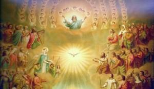 Sanctus in Heaven