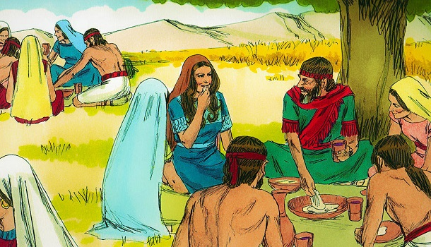 dating lessons from ruth and boaz Lessons for the leader the birth of a child is a time of joy and celebration as • draw attention to the pictures of ruth, boaz, and naomi • say:.