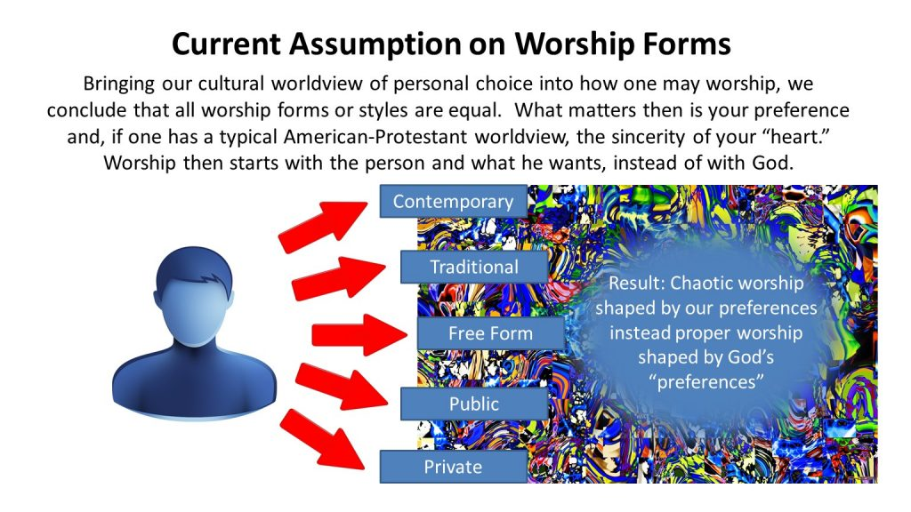 New Covenant Worship, Cultural Assumptions