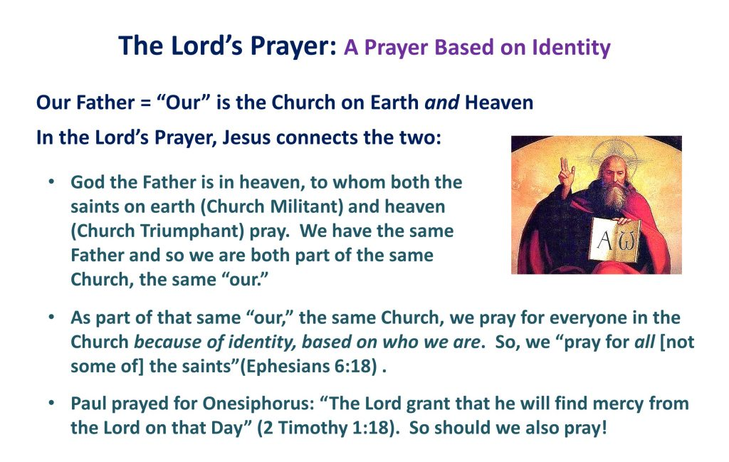 13, Lord's Prayer