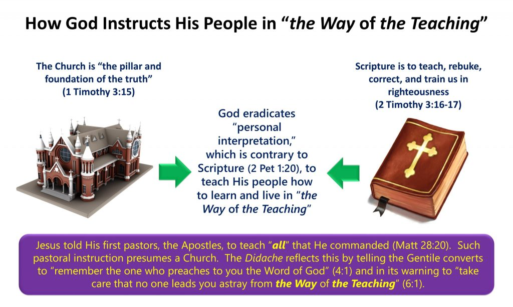 4, Church and Scripture to Teach the Faithful