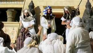 Joseph and his brothers first meet in Egypt