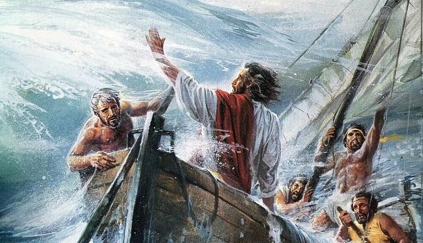 Mark 4:35-41: Jesus Stills the Storm